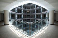 Hotelu lobby z fotografia royalty free