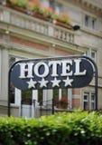 hotelu znak Obraz Royalty Free