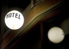 hotelu znak Zdjęcia Stock