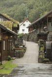 Hotelunterkunft nahe dem Magma-Geo-Park außerhalb Stavangers Norwegen lizenzfreie stockfotografie