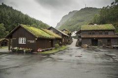 Hotelunterkunft nahe dem Magma-Geo-Park außerhalb Stavangers Norwegen lizenzfreies stockfoto