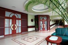 Hotelvorhalle Stockfoto