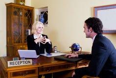 Hotelvorhallemanager Lizenzfreies Stockfoto