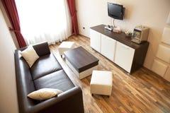 Hotelwohnzimmer Stockbild