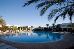 Hotelyard Lizenzfreie Stockfotos