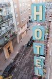 Hotelzeichen Lizenzfreie Stockfotografie