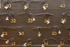 Hotelzimmer Bell Lizenzfreies Stockfoto