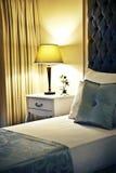 Hotelzimmer oder Schlafzimmer stockfotos