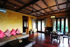 Hotelzimmer in Thailand Stockbild