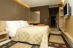 Hotelzimmerinnenraum stockfotografie