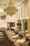 Hotelzitkamer en Bar Stock Foto's