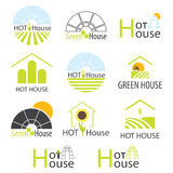 Hothouse collection. Vector Stock Photos