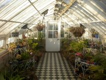 The hothouse at historic Werribee Mansion, Melbourne, Australia. royalty free stock photos