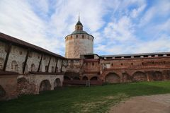 The Hotin Castle, Ukraine Stock Image