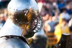 HOTIN, UCRÂNIA - em maio de 2013: O terceiro festival internacional da reconstrução histórica da Idade Média Imagens de Stock Royalty Free