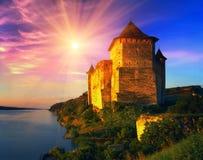 Hotinskaya fästning Arkivbild