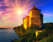 Hotinskaya fortress Stock Photography