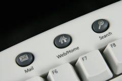 Hotkeys del teclado Fotografía de archivo libre de regalías