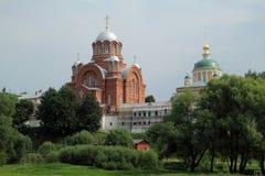 Hotkov klosterinRussia Arkivbild