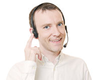 Hotline Royalty Free Stock Photos