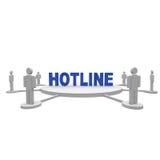 Hotline royalty-vrije stock fotografie