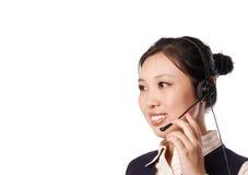 Hotline de dienst Stock Foto's
