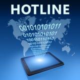 Hotline Royalty Free Stock Photo