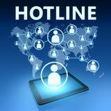 Hotline Royalty Free Stock Photos