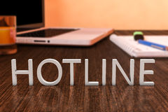 Hotline Royalty Free Stock Images