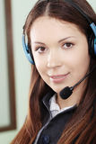 Hotline operator Stock Photography