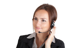 Hotline operator Stock Photos