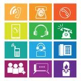 Hotline Telephone windows Royalty Free Stock Image
