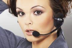 Hotline van Nice exploitant Royalty-vrije Stock Fotografie