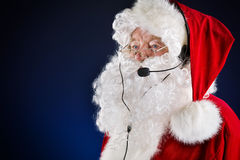 Hotlinesanta Stock Foto