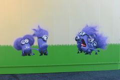Hoto ` kolonelu ` ściany SZCZĘŚLIWA sztuka Fotografia Royalty Free