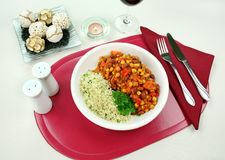 Hotpot With Couscous Stock Images