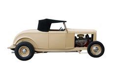 hotrod开放棕褐色的轮子 库存照片