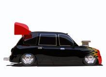 Hotrod такси стоковое фото rf