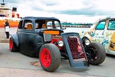 hotrod Automotivo-mostra Fotos de Stock Royalty Free