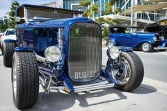 Hotrod azul Imagem de Stock