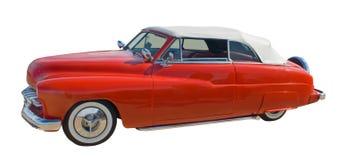 Hotrod convertible rojo Fotos de archivo