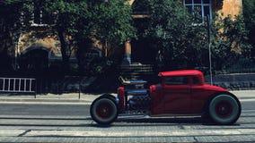 hotrod 3d rendem Fotografia de Stock