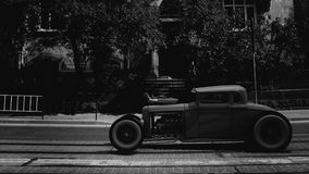 hotrod 3d rendent Images stock