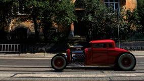 hotrod 3d rendono Fotografia Stock