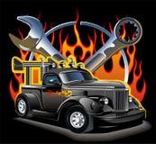 Hotrod de vecteur Images stock
