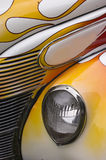 Hotrod Flames Abstract Royalty Free Stock Images