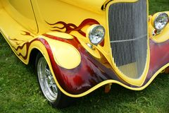 Hotrod Front End Royalty Free Stock Photos