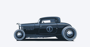 Hotrod, Illustration Stock Images