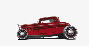 Hotrod, Illustration Royalty Free Stock Photos