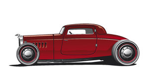 Hotrod, Illustration Royalty Free Stock Images